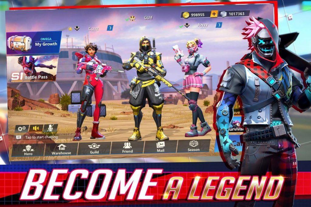 Omega Legends Hileli Apk İndir