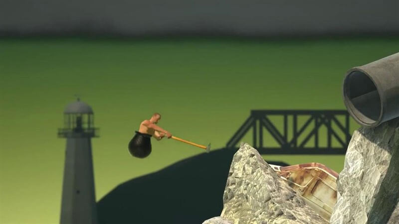 Getting Over It with Bennett Foddy Hile Apk İndir